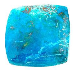 Natural 16.30cts shattuckite blue cabochon 19x19mm octagan loose gemstone s23132