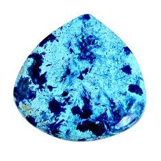 Natural 16.30cts shattuckite blue cabochon 24.5x24mm heart loose gemstone s19536