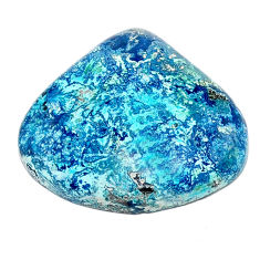 Natural 19.45cts shattuckite blue cabochon 24x22 mm fancy loose gemstone s23107