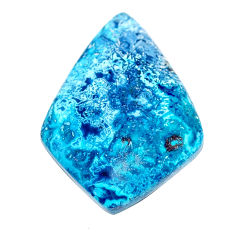 Natural 26.30cts shattuckite blue cabochon 30x21 mm fancy loose gemstone s23096