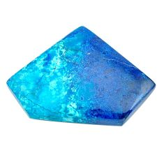 Natural 28.10cts shattuckite blue cabochon 33x24 mm fancy loose gemstone s23128