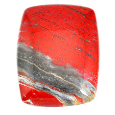 Natural 56.30cts snakeskin jasper red cabochon 35x25 mm loose gemstone s21821