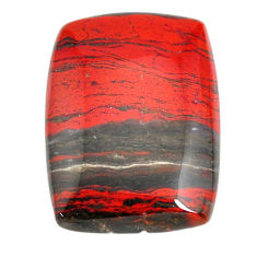 Natural 54.45cts snakeskin jasper red cabochon 35x25 mm loose gemstone s21838