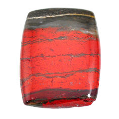 Natural 68.10cts snakeskin jasper red cabochon 40x30 mm loose gemstone s21837