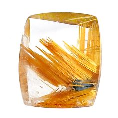 Natural 16.30cts star rutilated quartz golden 19x14 mm loose gemstone s22617