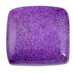Natural 16.30cts stichtite purple cabochon 19x18mm octagan loose gemstone s20292