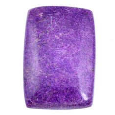 Natural 24.05cts stichtite purple cabochon 28x19mm octagan loose gemstone s20309