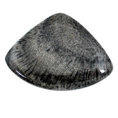 Natural 30.10cts stingray coral from alaska 35x26 mm loose gemstone s20745