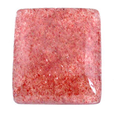 Natural 53.25cts strawberry quartz red cabochon 28x25 mm loose gemstone s20626