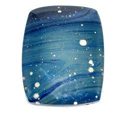 Natural 25.15cts swedish slag blue cabochon 28x21 mm loose gemstone s24118
