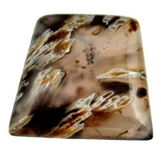 turkish stick agate brown 29x27 mm fancy loose gemstone s16972