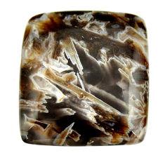 turkish stick agate brown 30x27mm octagan loose gemstone s16967