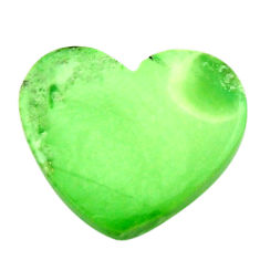 Natural 10.15cts variscite green cabochon 20x17 mm heart loose gemstone s17885