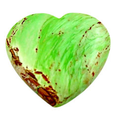 Natural 13.25cts variscite green cabochon 20x19 mm heart loose gemstone s17894