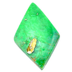 Natural 17.35cts variscite green cabochon 30x18 mm fancy loose gemstone s22970