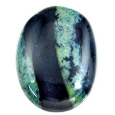 vivianite blue cabochon 25x18 mm pear loose gemstone s16369