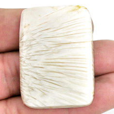 70.15cts scolecite high vibration crystal 41x29 mm octagan loose gemstone s20989