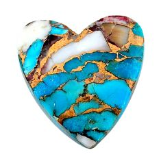 16.30cts spiny oyster arizona turquoise cabochon 22.5x21mm loose gemstone s24697