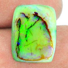 7.40cts sterling opal multicolor cabochon 18x13.5 mm loose gemstone s22173
