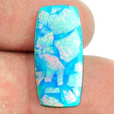 9.35cts sterling opal multicolor cabochon 23x10.5 mm loose gemstone s22174