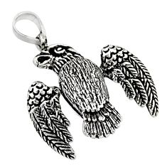 925 silver 5.26gms indonesian bali style solid bird charm pendant jewelry c8960