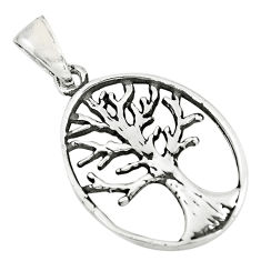 3.02gms indonesian bali style 925 silver tree of connectivity pendant c8968