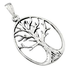 3.48gms indonesian bali style 925 silver tree of connectivity pendant c8989