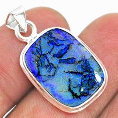 925 silver 5.87cts multi color sterling opal pendant jewelry t34573