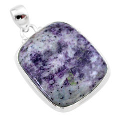 925 sterling silver 37.74cts natural kammererite pendant jewelry t46279