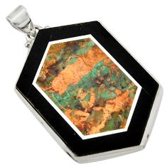 Clearance Sale- 62.30cts 925 sterling silver pendant jewelry d42785