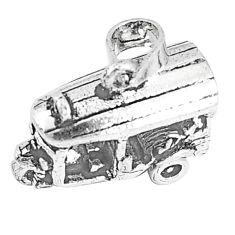 5.03gms indonesian bali style solid 925 silver auto rickshaw pendant c25886