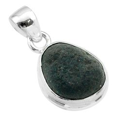 5.51cts natural brown cintamani saffordite 925 sterling silver pendant t58162