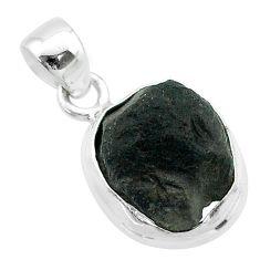 7.15cts natural brown cintamani saffordite 925 sterling silver pendant t58169