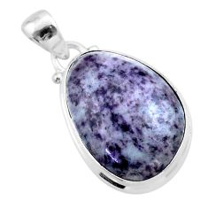 14.23cts natural kammererite 925 sterling silver handmade pendant jewelry t46012