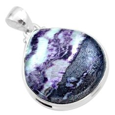 24.38cts natural kammererite 925 sterling silver pendant jewelry t46071