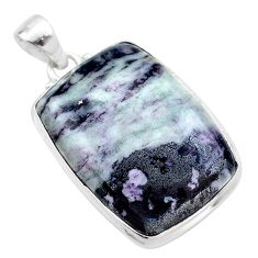 30.88cts natural kammererite 925 sterling silver pendant jewelry t46088