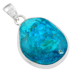 16.73cts natural grey opaline 925 sterling silver pendant jewelry p59377
