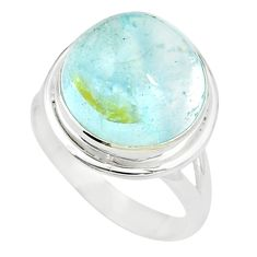 925 sterling silver natural untreated blue topaz ring jewelry size 7 m33613