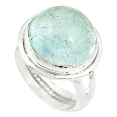 Natural untreated blue topaz 925 sterling silver ring jewelry size 6 m33620
