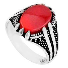 6.02cts honey onyx black topaz 925 silver mens ring jewelry size 10.5 c11550