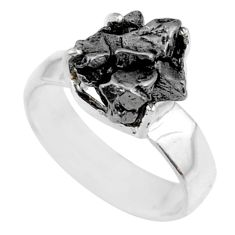 925 silver 5.87cts natural campo del cielo fancy solitaire ring size 7 r73509