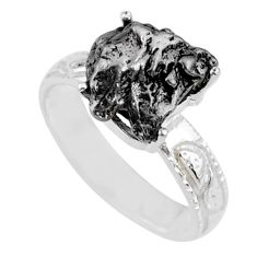 925 silver 6.02cts natural campo del cielo fancy solitaire ring size 7 r73529