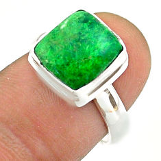 925 silver 4.86cts solitaire natural maw sit sit ring size 7 t54622
