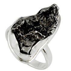 Clearance Sale- 925 silver 17.67cts natural campo del cielo fancy solitaire ring size 7 d37677