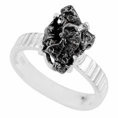 5.36cts natural campo del cielo 925 silver solitaire ring size 6 r73521