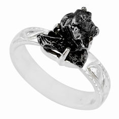 5.63cts natural campo del cielo 925 silver solitaire ring size 7 r73532