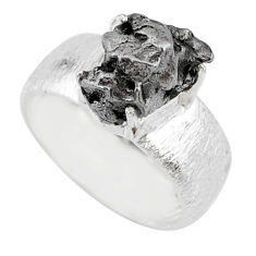 6.95cts natural campo del cielo 925 silver solitaire ring size 8 r73538