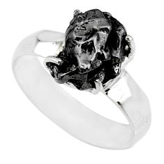 6.83cts natural campo del cielo 925 silver solitaire ring size 9 r73527