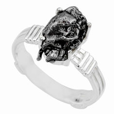 6.78cts natural campo del cielo 925 silver solitaire ring size 9 r73530