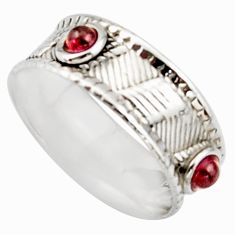 0.91cts natural pink tourmaline 925 sterling silver ring jewelry size 7 d46512